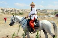 GÖREME - Kapadokya'da Atlı Okçuluk Yarışması Yapıldı