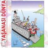 SIYAH ÇELENK - KKTC'de tepki çeken karikatür