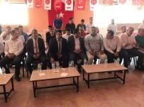 BERABERLIK - MHP Mut İlçe Başkanı Kır Güven Tazeledi