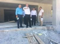YENI CAMI - Nurdağı'na Yeni Cami İnşaatı