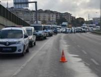ZİNCİRLEME KAZA - Şile'de kaza yapan aracı izleyen sürücülerden zincirleme kaza!