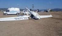 EMNIYET ŞERIDI - Troy Air Fest'te Korkutan Uçak Kazası Açıklaması 1 Yaralı