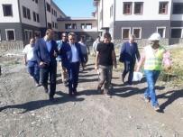Vali Elban, Geri Gönderme Merkezi İnşaatında İncelemelerde Bulundu
