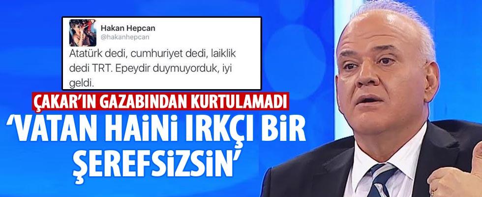 Ahmet Çakar'dan Hakan Hepcan'a ağır sözler