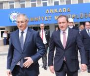 ANKARA EMNIYET MÜDÜRÜ - Ankara Emniyet Müdürlüğünde Devir Teslim Töreni