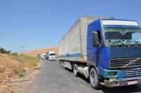 JANDARMA - BM'nin 14 Yardım Tırı Suriye'ye Geçti