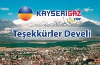 ERCIYES DAĞı - Develi'de Doğalgaz Abone Sayısı 6000 BBS'e Ulaştı