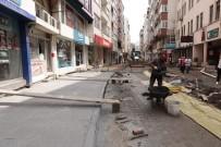 SICAK ASFALT - Fatsa'da Baskı Beton Kaldırım Ve Yol Çalışmaları