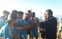 Gevaş'ta Plaj Futbolu Heyecanı Sona Erdi