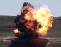 BOMBALI ARAÇ - Van'da bomba yüklü araç imha edildi