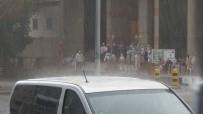Hacı Adaylarına Yağmur Sürprizi