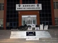 KONTROL NOKTASI - Hakkari'de 23 Bin Paket Kaçak Sigara Ele Geçirildi
