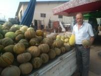 Hisarcık'ta Yerli Kavun Tezgaha İndi