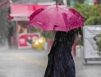 SAĞANAK YAĞMUR - Meteoroloji'den peş peşe uyarı