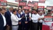 TEVFIK GÖKSU - İstanbul Milletvekili Hasan Turan, Belediye Başkanlarıyla Birlikte FETÖ Davalarını Takip Etti