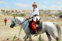 GÖREME - Kapadokya'da Atlı Okçuluk Yarışması
