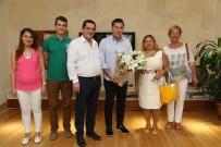 LIONS - Lions Yöneticilerinden Başkan Kocadon'a Ziyaret