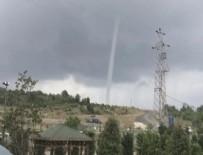 METEOROLOJI - Meteoroloji'den İstanbullulara sağanak yağış uyarısı! Beykoz'da hortum