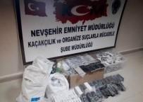 CEP TELEFONU - Nevşehir'de 101 Adet Gümrük Kaçağı Cep Telefonu Ele Geçirildi