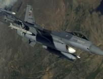HAVA KUVVETLERİ - Zap bölgesinde ve Diyarbakır'da teröristlere hava harekatı: 4 terörist öldürüldü