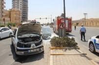 ŞANLIURFA - Şanlıurfa'da Trafik Kazası Açıklaması 1 Yaralı