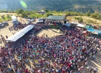HÜSEYIN ÇAMAK - Silifke'de Nuru Mahallesi İncir Ve Fıstık Festivali Yapıldı