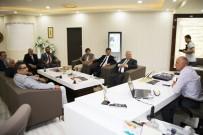 TÜRKIYE BILIMLER AKADEMISI - Türk Dili Heyetinden Başkan Çalışkan'a Ziyaret