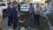 Vali Elban, Kaldırım Çalışmalarını İnceledi