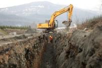 KANALİZASYON - Yanık Mahallesi'nde Kanalizasyon Projesi Tamamlanıyor