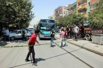 HALK OTOBÜSÜ - Yol verme kavgasında silahlar konuştu