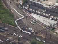 TREN KAZASı - Pensilvanya'da tren kazası