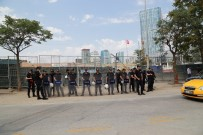 GÜVENLİK ÖNLEMİ - ABD'nin Yeni Elçilik Binası İnşaatı Başkent'te Protesto Edildi