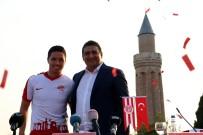 ALI ÖZTÜRK - Antalyaspor'dan Nasri'ye Özel İmza Töreni