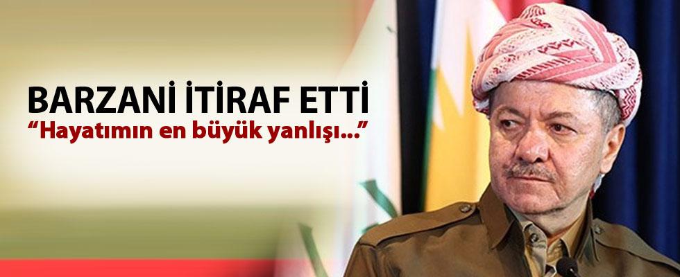 Barzani: Hayatımın en büyük yanlışı buydu!