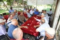 PAZARCI ESNAFI - Başkan Çalık, Seriklleri Yaylalarda Ziyaret Etti