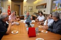 ADNAN ERDOĞAN - Başkan Eşkinat Mühendis Odaları Yöneticileriyle Bir Araya Geldi