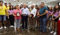 ŞEHIT - Başkan Karabağ, Şampiyon Sporcularla