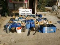 KAÇAK AKARYAKIT - Burdur Jandarmasından Kaçak Motorin Operasyonu