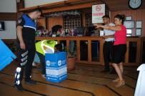 HASAN AKGÜN - Büyükçekmece'de İşyerlerine Geri Dönüşüm Kutuları Yerleştiriliyor