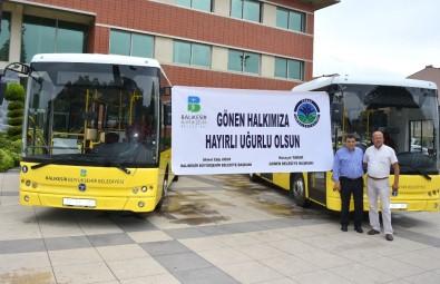 Büyükşehir'den Gönen İki Yeni Otobüs