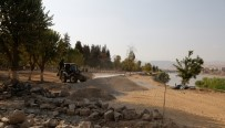 CİZRE BELEDİYESİ - Dicle Nehri Kenarındaki Parklar Yenileniyor