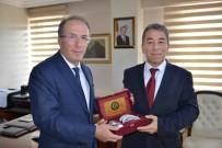 BARTIN ÜNİVERSİTESİ - Emniyet Müdürü Aydoğdu'dan Rektör Uzun'a Veda Ziyareti