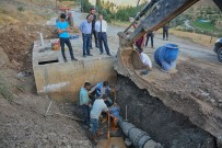 KıZıLKAYA - Epcim,İçme Suyu Şebeke Hattı İmalatlarını Denetledi