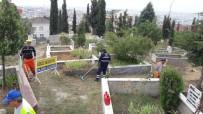 OSMAN YıLMAZ - Gebze'de Mezarlıklarda Çalışmalar Sürüyor