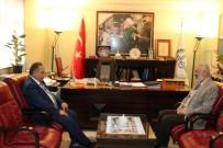 GENEL SEKRETER - Genel Sekreteri Yalçın'dan İl Müftülüğüne Ziyaret