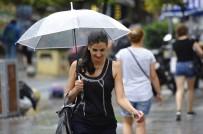 METEOROLOJI - İstanbul'da Beklenen Yağmur Başladı