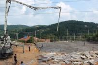 GÖKÇELER - Kandilli Belediyesi'nin Yapacağı Çok Amaçlı Salonun Temeli Atıldı