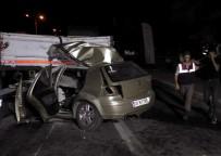 AKARYAKIT İSTASYONU - Katliam gibi kaza: 4 ölü