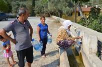 KANALİZASYON - Kızılağaç Sakinleri Suya Kavuşuyor