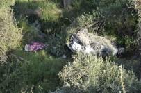 Konya'da Otomobil 20 Metrelik Uçuruma Yuvarlandı Açıklaması 1 Ölü 2 Yaralı